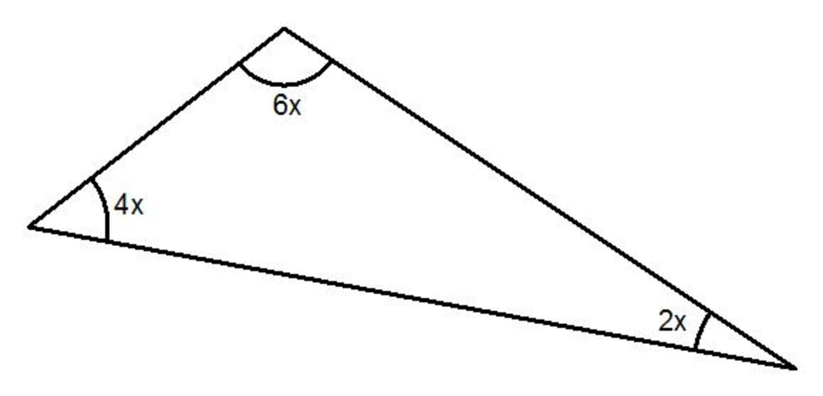 How to Work Out the Angles in a Triangle When the Angles