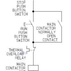 1 Phase Contactor Wiring Diagram Vista 20p How To Learn Dol Electric Motor Control – A Basic Controller Guide For Direct On Line ...