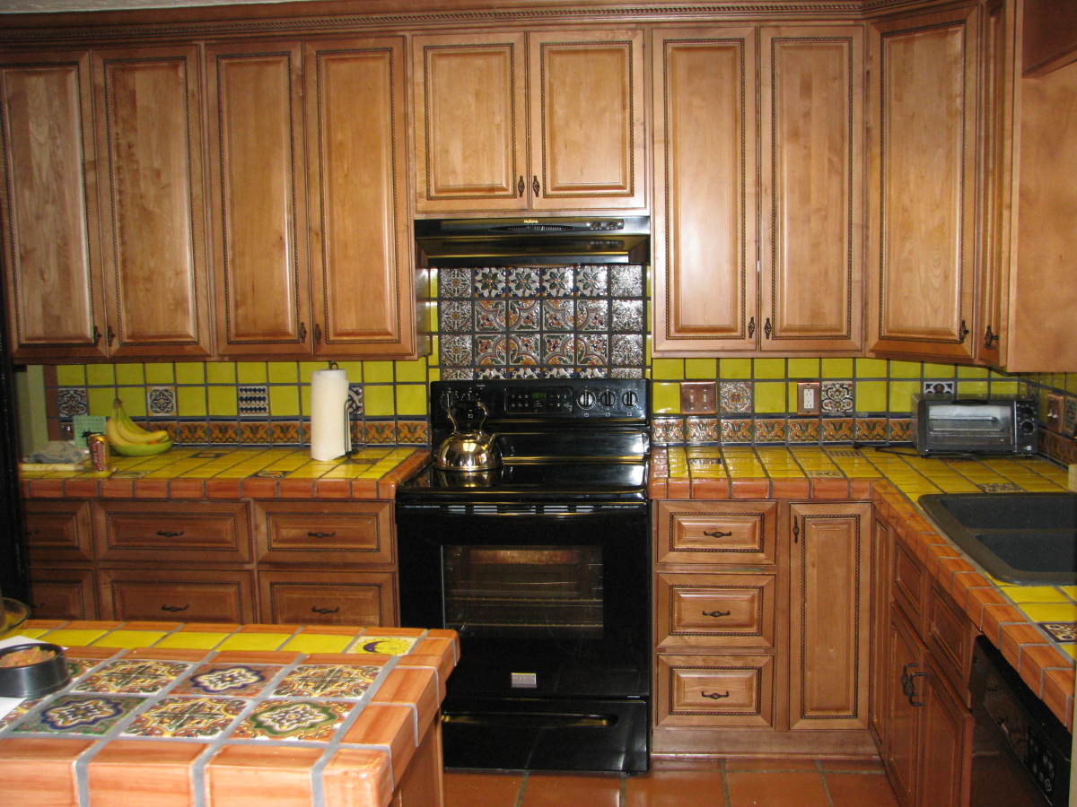 mexican backsplash tiles kitchen shabby chic cabinets how to choose rta dengarden
