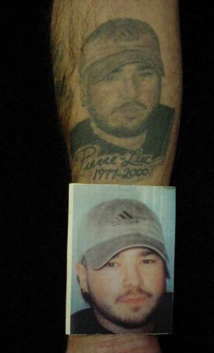 Rip Dad Tattoos On Forearm