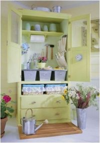 What To Do With An Old Armoire or TV Cabinet. Repurpose ...