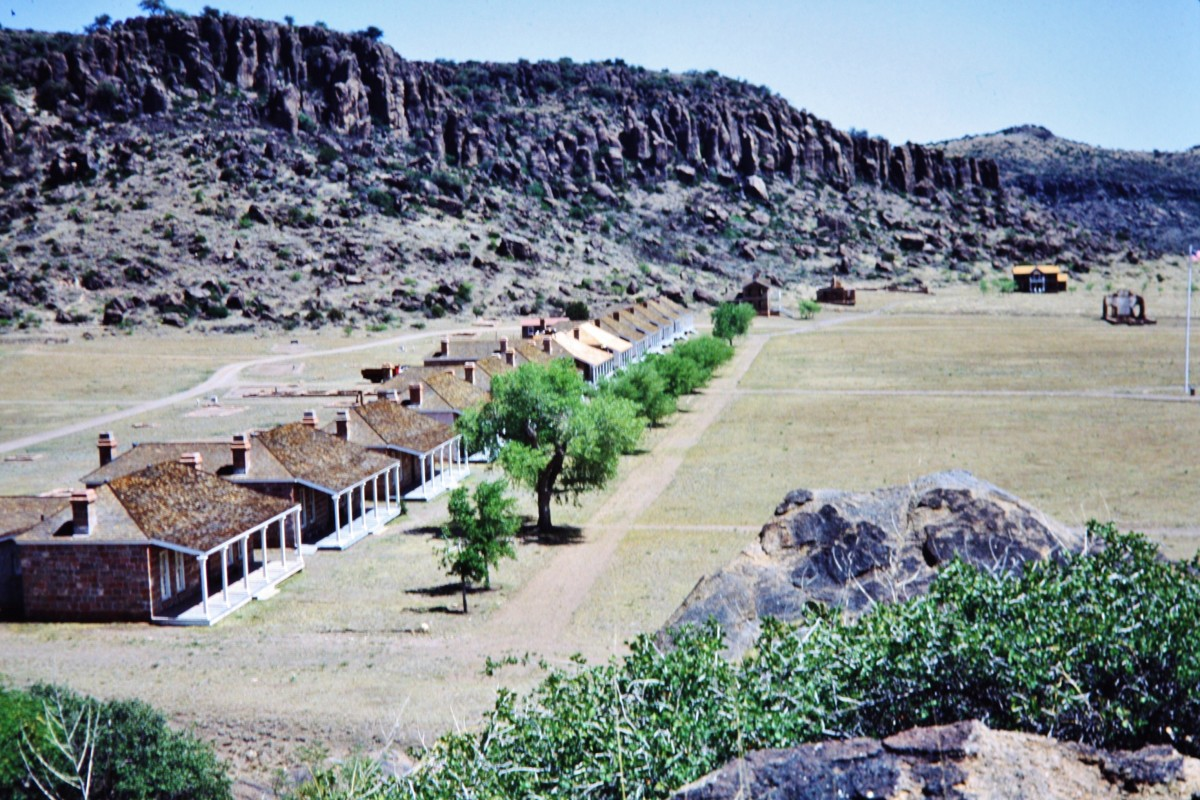 Fort Davis Frontier Military Post In West Texas National