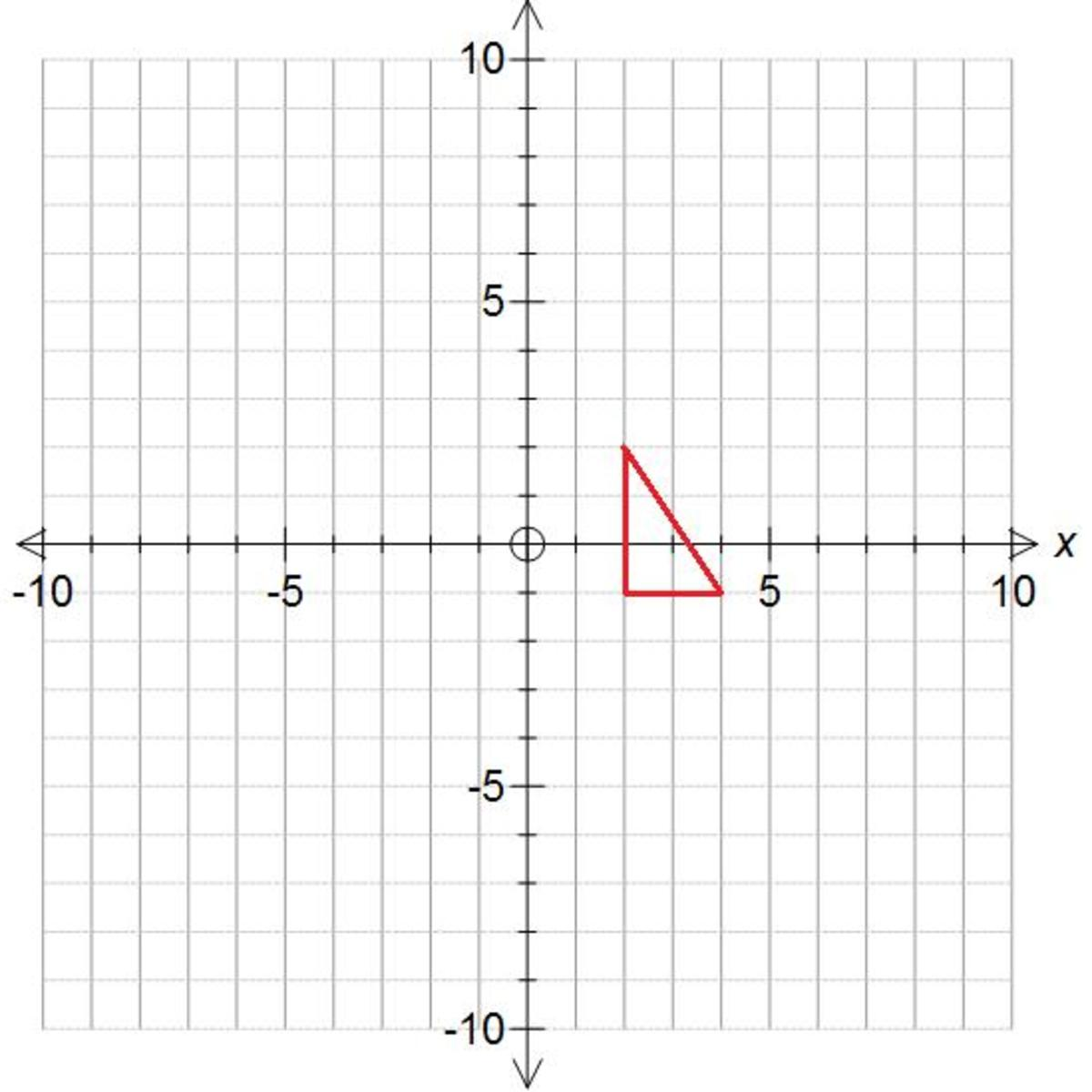 How To Translate A Shape On A Coordinate Grid Using A