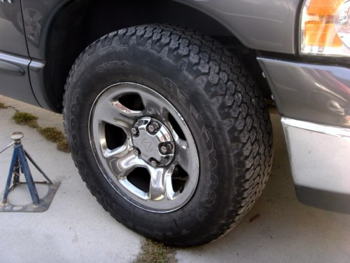 small resolution of dodge ram 1500 how to change front disc brake pads or rotors