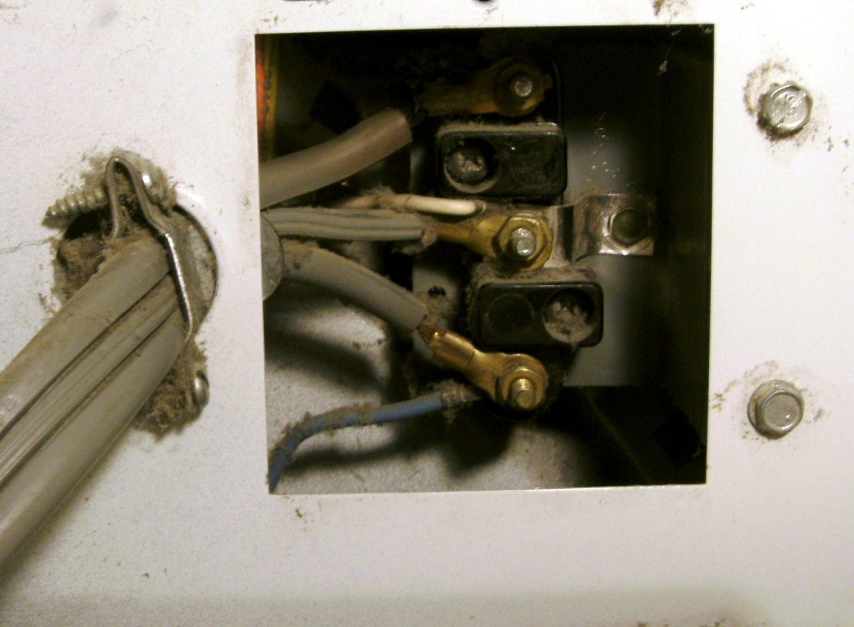 Electrical Where Does The Ground Wire Go In A 3 Prong Dryer Cord