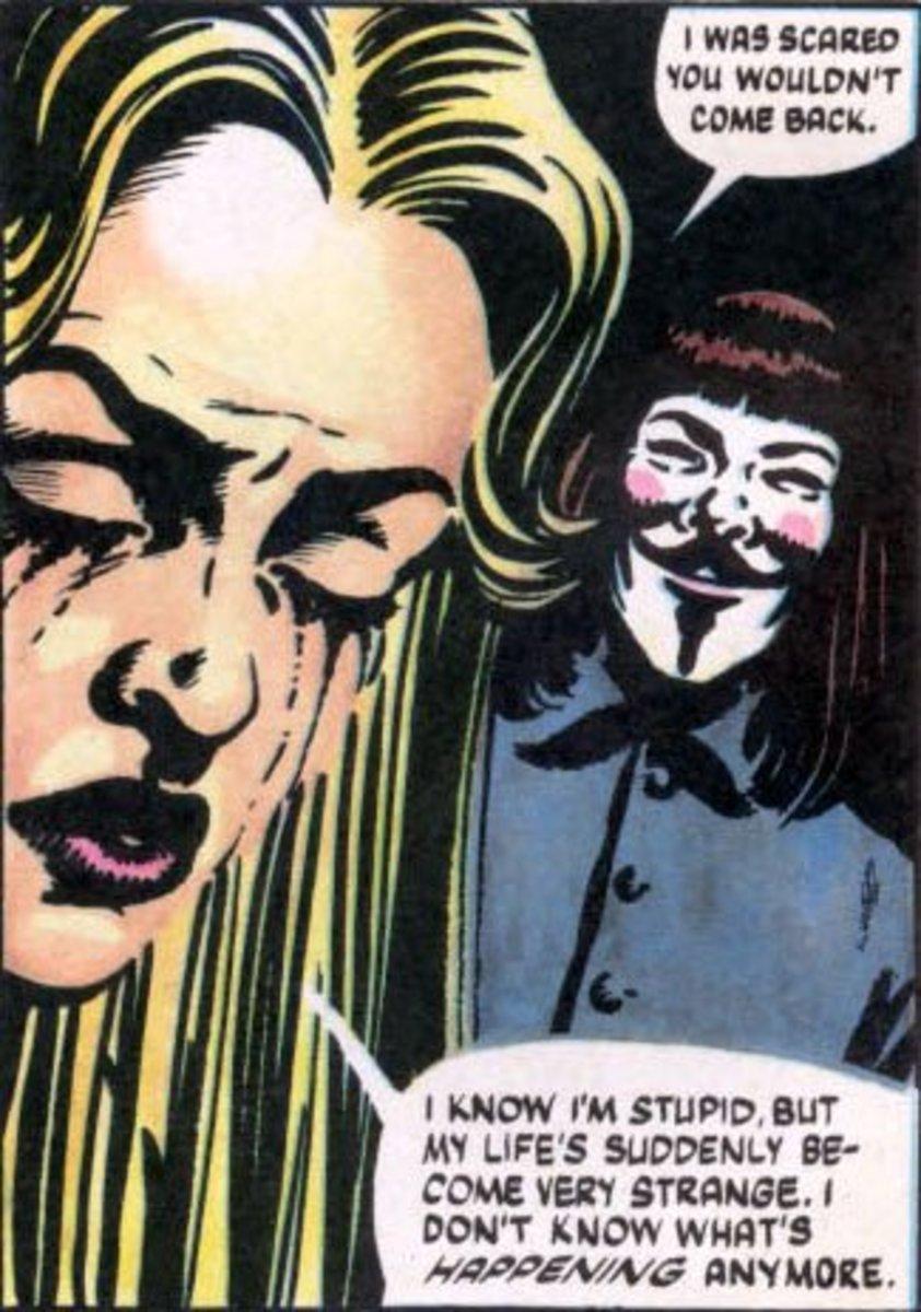 Alan Moores V for Vendetta Analysis  HobbyLark