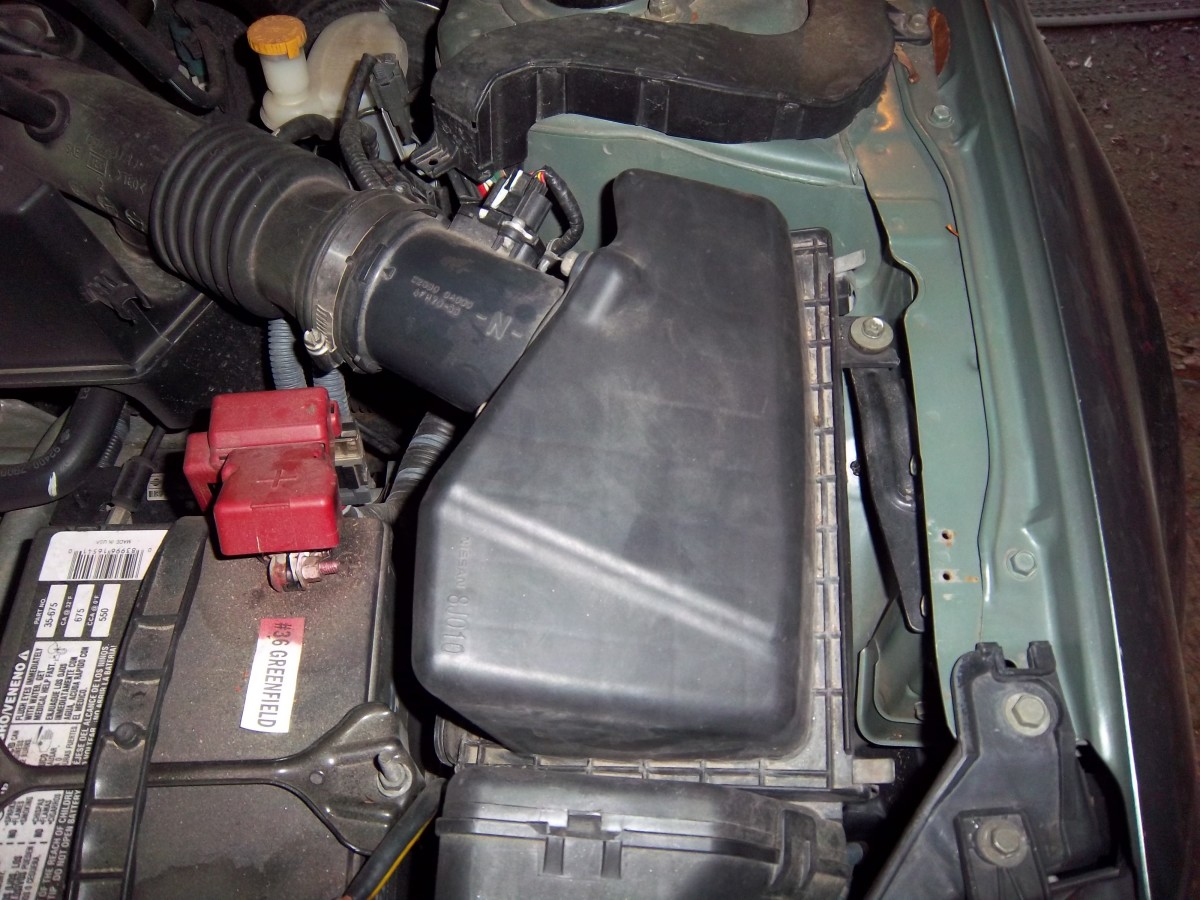 hight resolution of how to replace the air filter in a 2006 nissan altima step by step with pictures