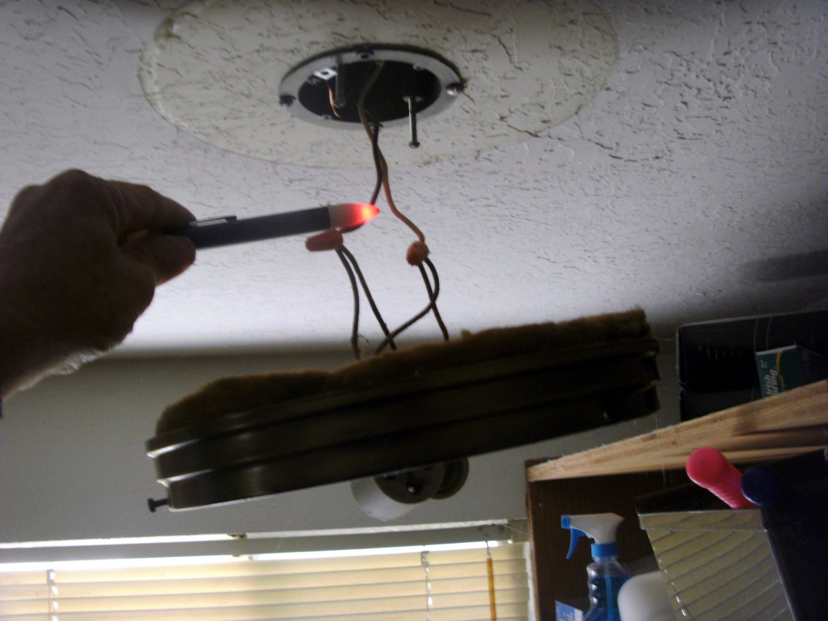 Wiring In The Home Light Flickers But Won39t Stay On Light Flicker