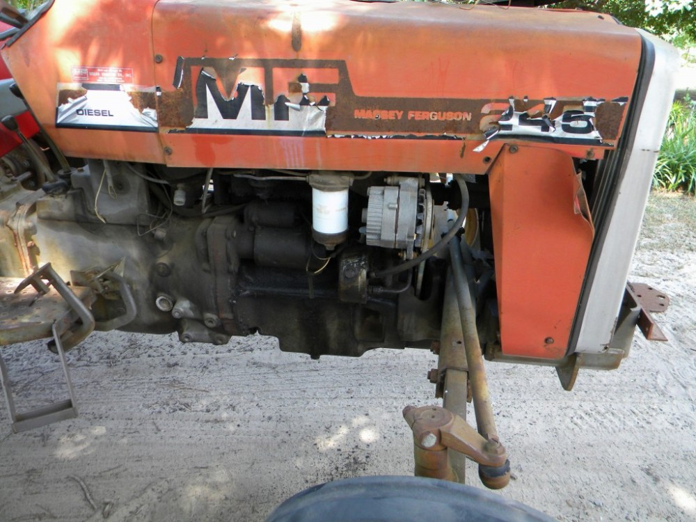 medium resolution of how to repair or replace a massey ferguson hydraulic power steering pump on a tractor
