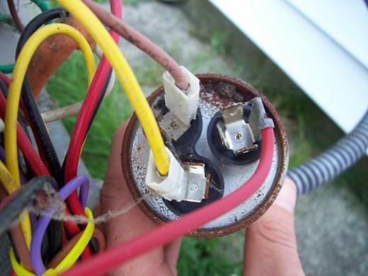 carrier heat pump capacitor wiring diagram wiring diagram replacing two run capacitors a single dual capacitor thermostat wiring diagram carrier heat pump capacitor source