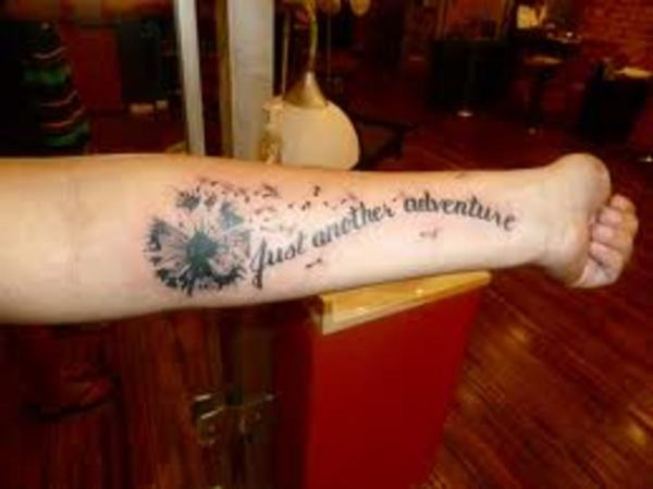dandelion tattoos design meanings