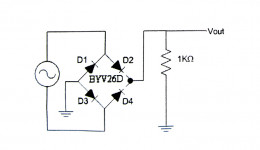 Diode Applications: Rectifiers (full-wave and half-wave)