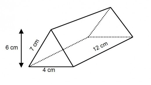 How to Find the Surface Area of a Triangular Prism (Right