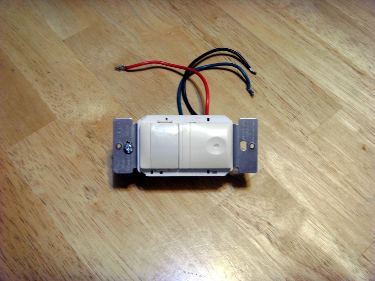 Two Way Switch Motion Sensor