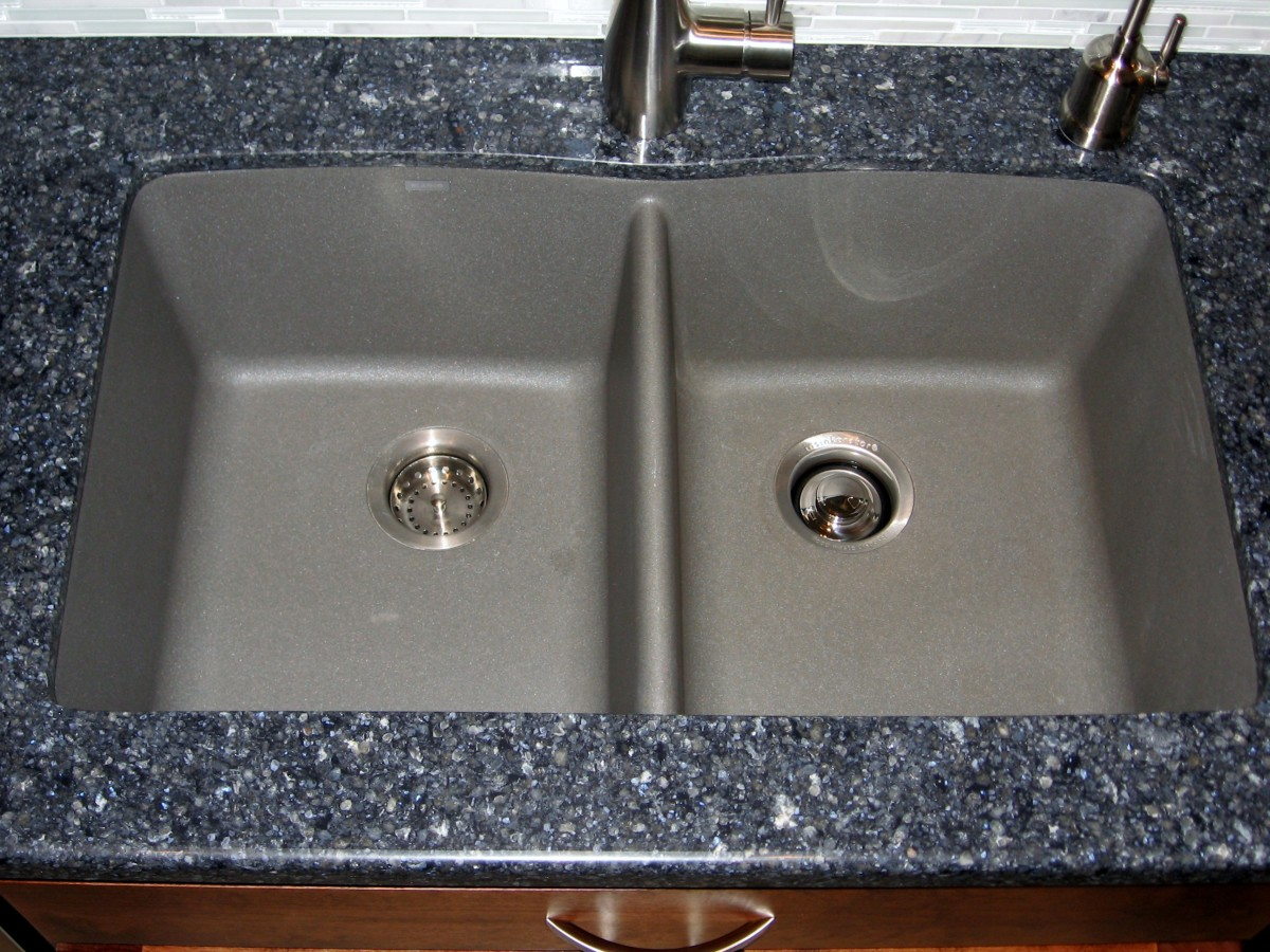 composite kitchen sink snaking a drain long term review of the silgranit ii granite