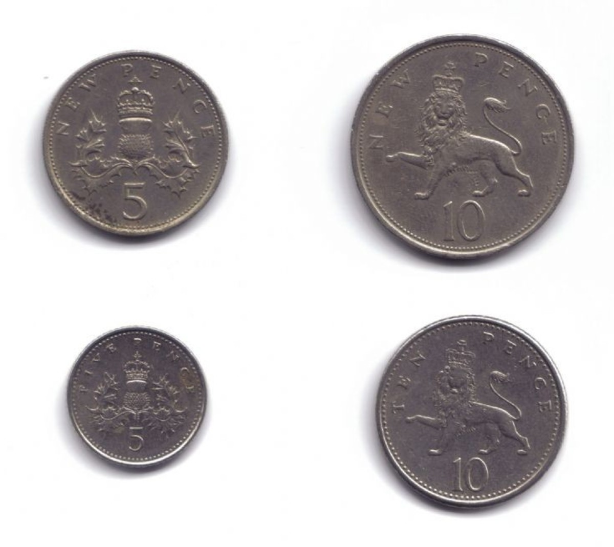 British Currency Uk Coins Metals And Values