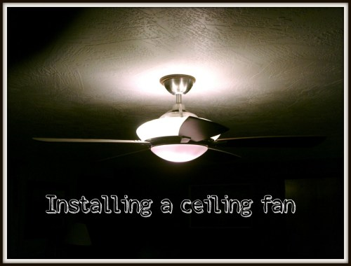 small resolution of how to install or hang a ceiling fan