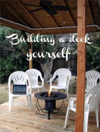 How to Build Your Own Covered Deck | Dengarden