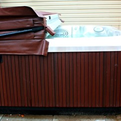 Jacuzzi J 365 Wiring Diagram Er Movie List Hot Tub Review Dengarden Side View Of My With Roasted Chestnut Cabinetry And Opal
