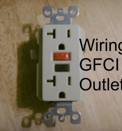 how to install a gfci outlet [ 1024 x 768 Pixel ]