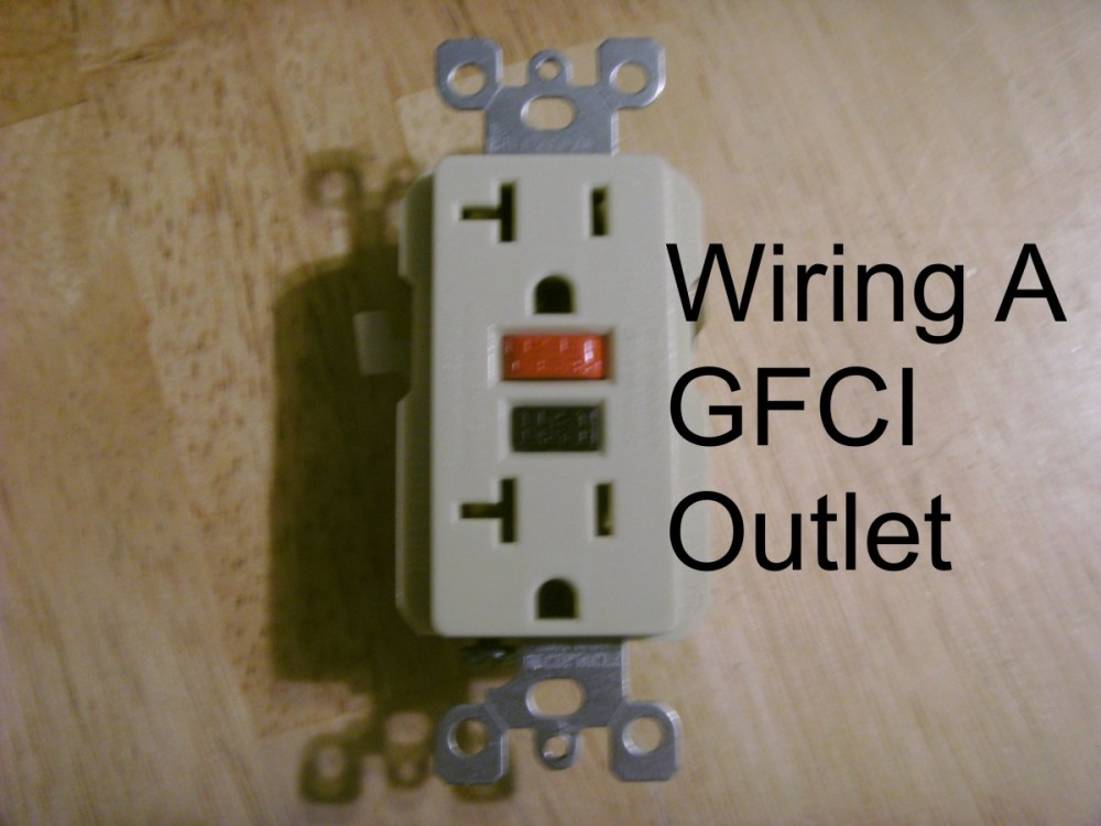 medium resolution of how to install a gfci outlet