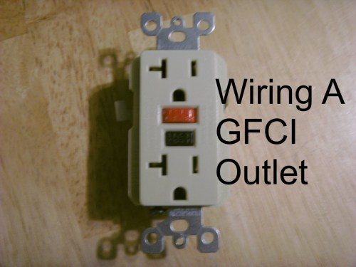 small resolution of how to install a gfci outlet