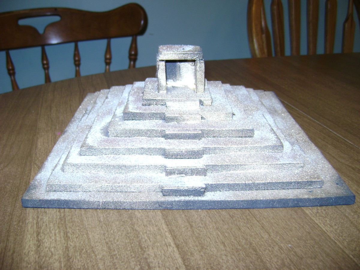 Kids Project Build A Ziggurat Or Pyramid HubPages