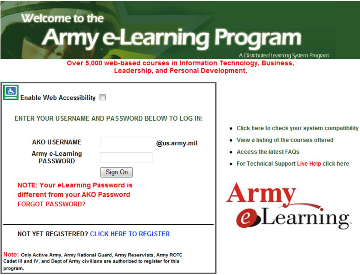 Skillport Army Courses