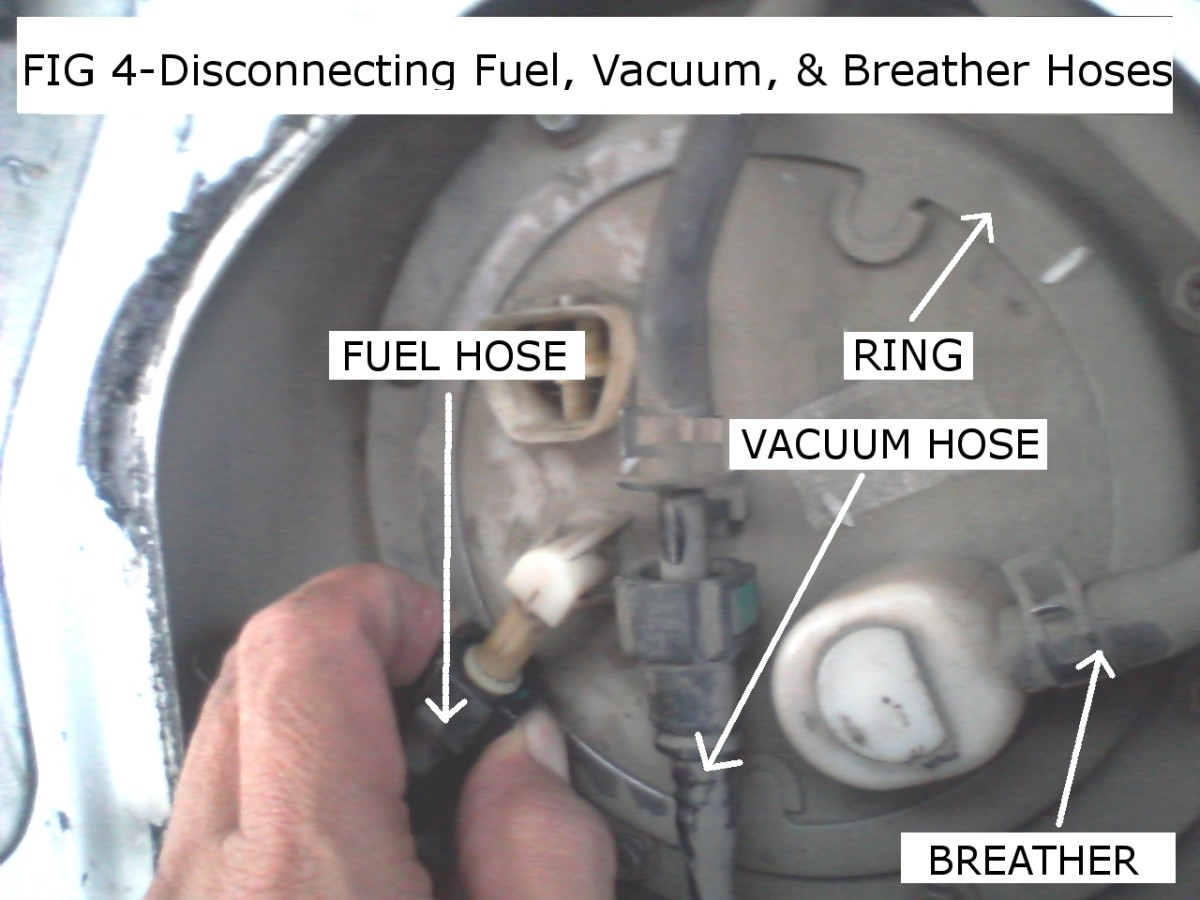 2003 Honda Accord Fuel Filter Location How To Replace An In Tank Fuel Pump And Filter Assembly