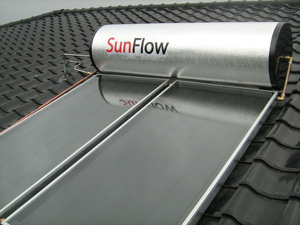 Homes Solar Water Heaters