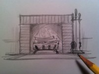 How to Draw a Fireplace   HubPages
