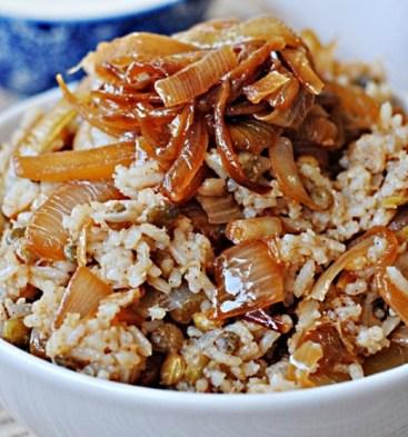 Image result for mjadara recipe