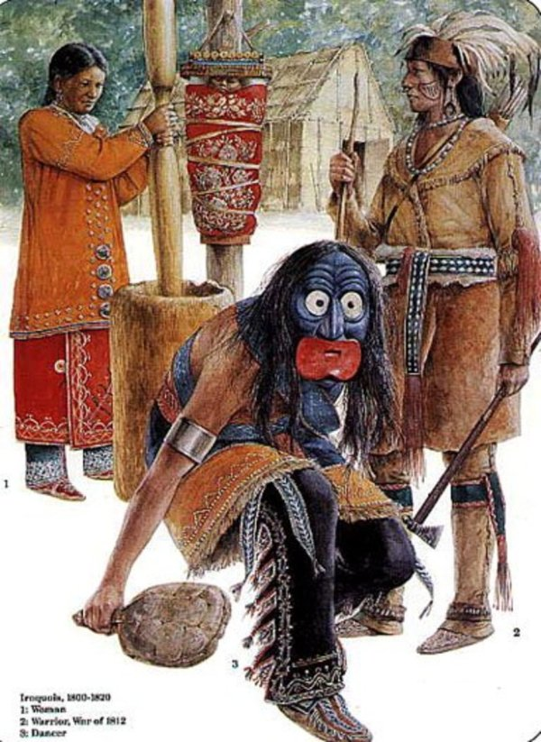 Traditional Mohawk Nation Daily and Ceremonial Clothing