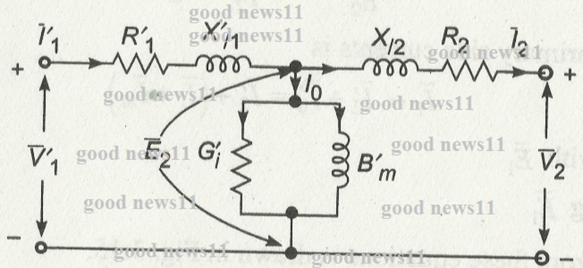 Equivalent Circuit and Phasor Diagram of Transformers