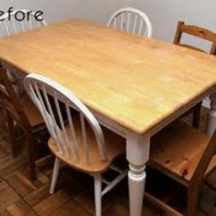 Kitchen Table With 6 Chairs Best Countertop Farm Tables Are In! A Do It Yourself Guide To Converting ...