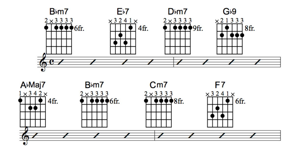 Jazz Guitar Lessons • When Sunny Gets Blue Chord Melody