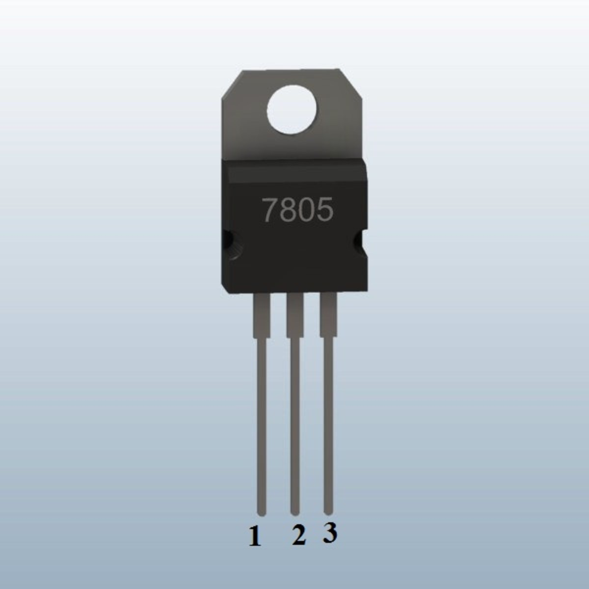 7805 Pin Configuration And Voltage Regulator Circuit