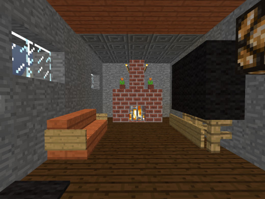 If Your Minecraft House Is Tall Enough There Are More E For Better Decoration