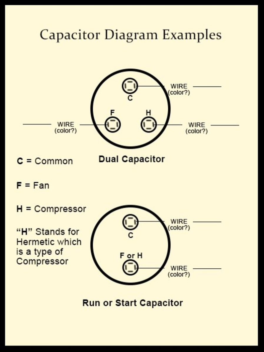 Start Run Combo Capacitors In 6hp Marathon 1ph Motor