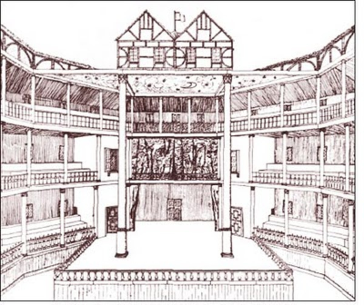 shakespeare globe theater diagram 94 cherokee radio wiring the theatre by mary | hubpages