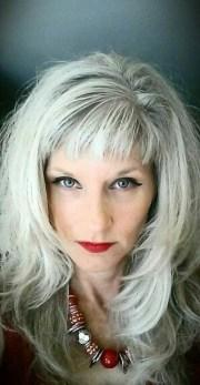 silver fox stunning gray hair