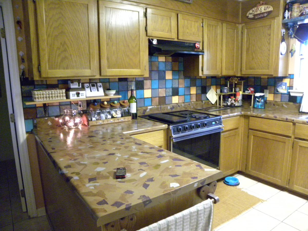 inexpensive kitchen countertops outdoor cost easy and diy