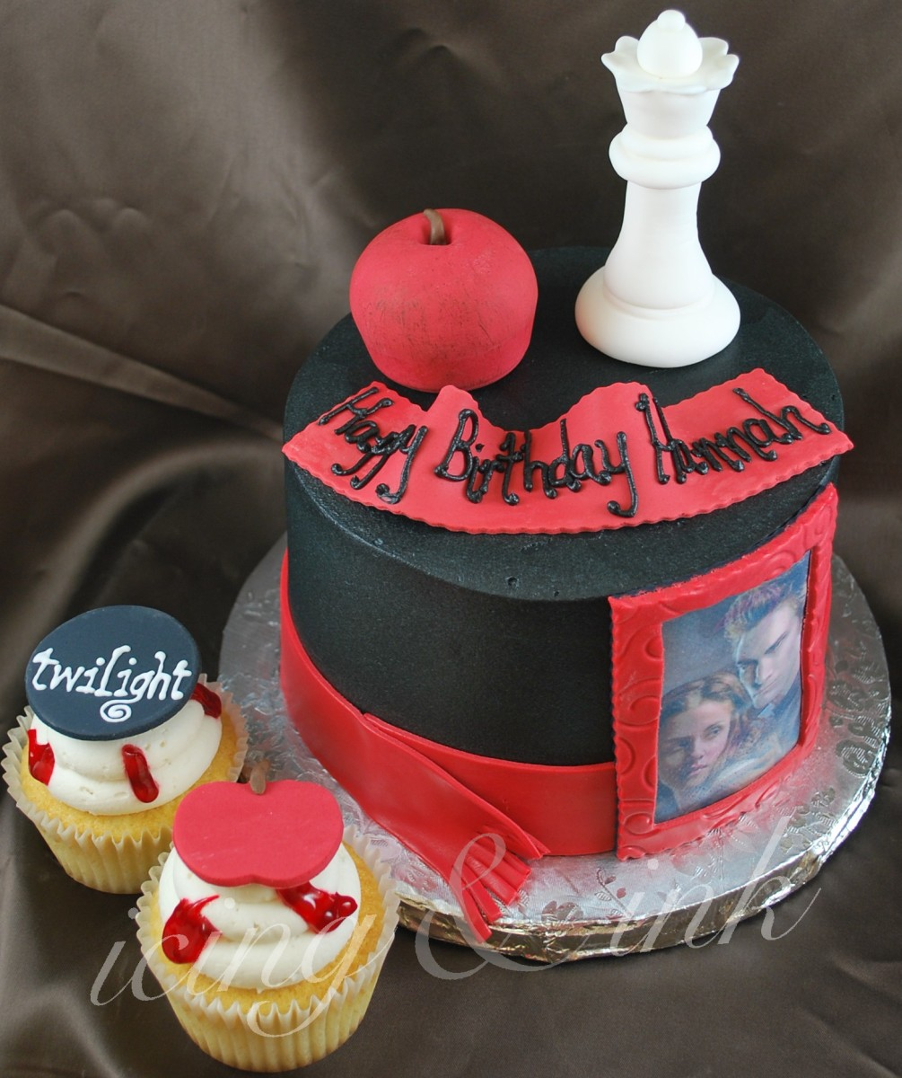 Twilight Birthday Cakes Cupcake And Cookie Ideas