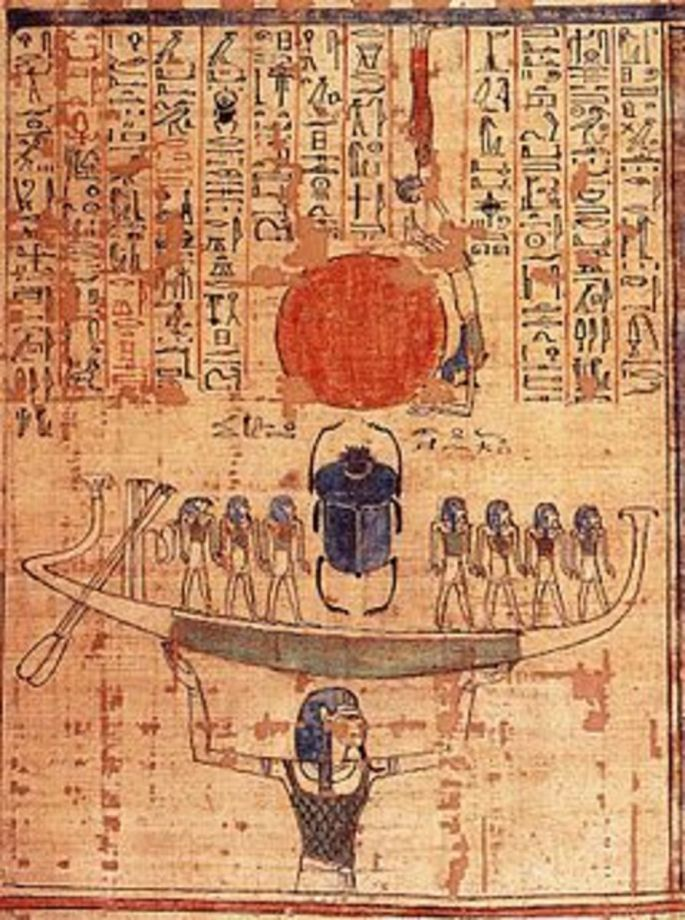 The Journey through the Underworld- Story from Ancient Egypt.