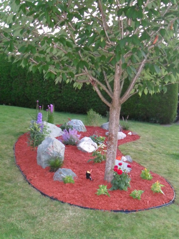 easy diy landscaping - build
