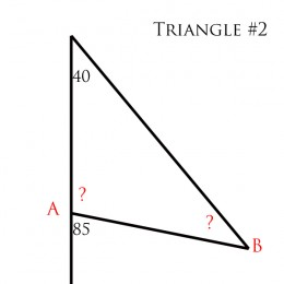 How to Find the Missing Angle of a Triangle