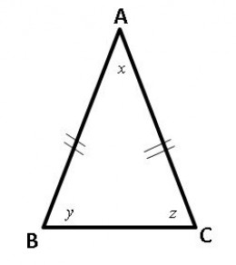 Triangle Geometry Review, Practice Problems with Solutions