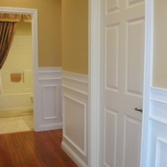 How To Install Chair Rail Maitland Smith Chairs Wainscoting Without A Professional   Dengarden