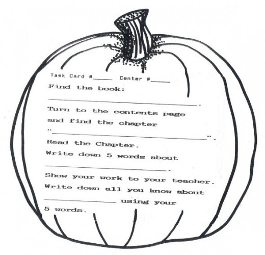 Pumpkin Picking Time Thematic Unit for Home School or