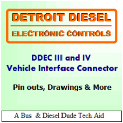 Ddec 2 Ecm Wiring Diagram Story Plot For Hatchet Detroit Diesel Iii And Iv Vehicle Engine Connectors | Axleaddict
